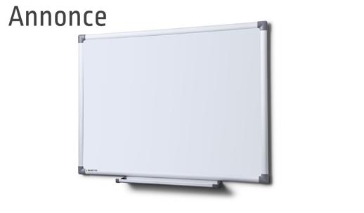 Dette whiteboard er fundet på Skiltex